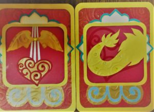 マヤ暦占星術赤い空歩く人赤い竜