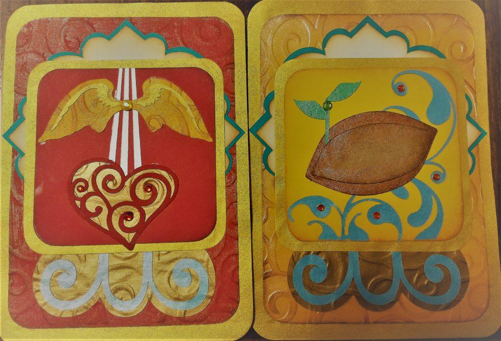 マヤ暦占星術赤い空歩く人黄色い種