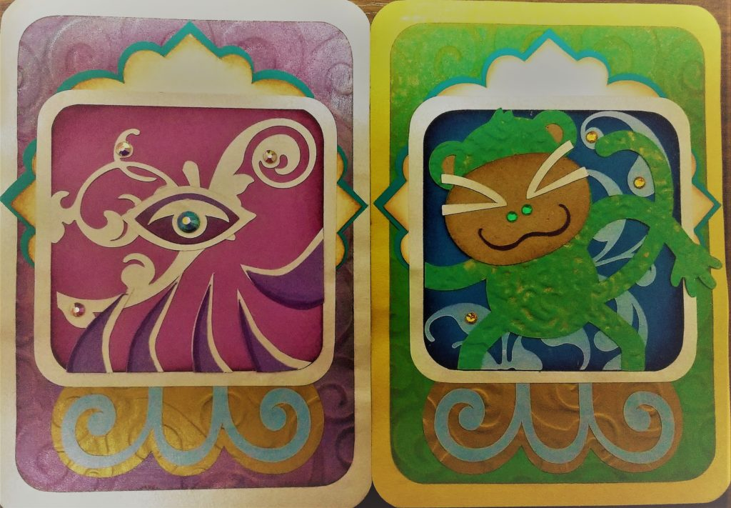 マヤ暦占星術青いワシ青い猿